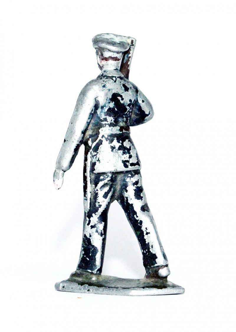 Figurines Aluminium ancienne Infanterie Aviation France 1940