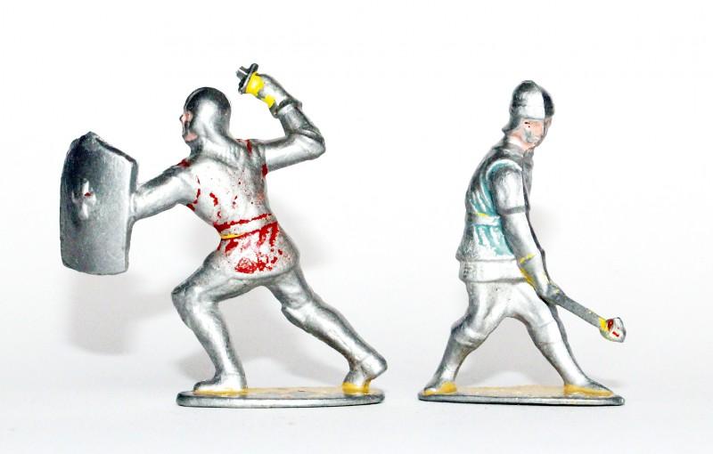 Figurines Quiralu ancienne Moyen Age Chevalier Armure