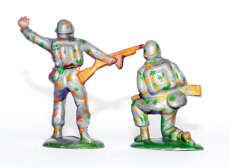 Figurine Ancienne Plastique - Année 50/60 - Pacte de Varsovie - Soldat Parachutiste