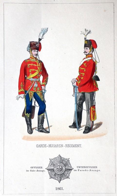 L'armée prussienne en uniforme 1860/1866