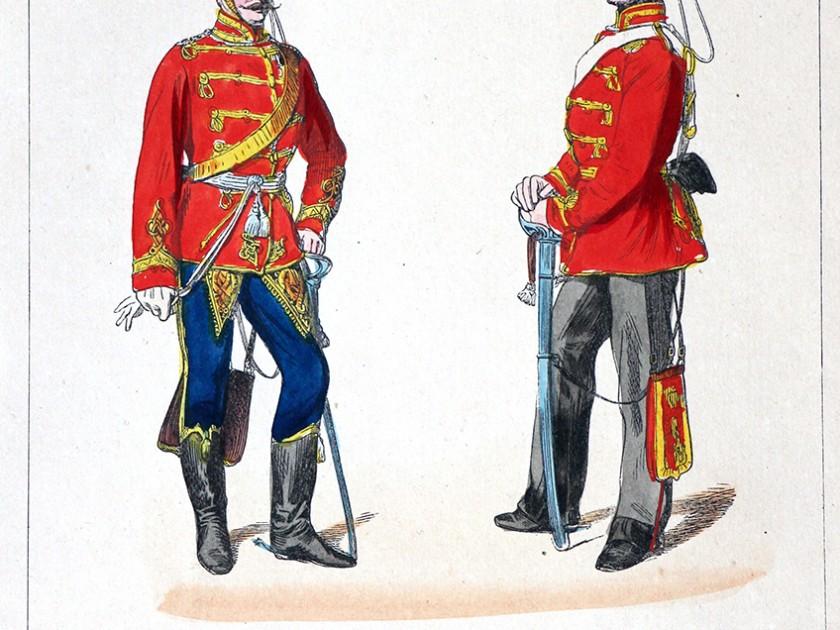 Uniformologie : L'armée Prussienne en 1860/1866 en uniforme, une belle série à découvrir.