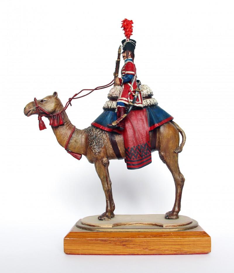 Figurine Series 77 - Peinture collectionneur - Soldat du régiment des dromadaires - 1799