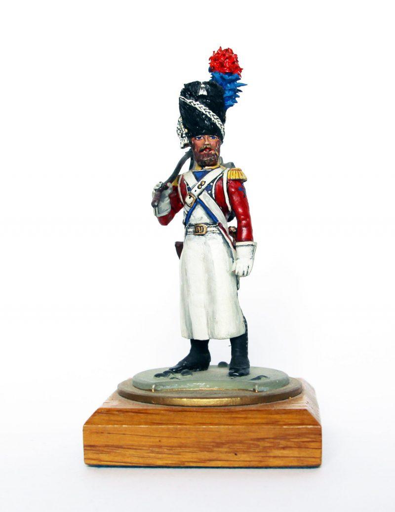 Figurine Series 77 - Peinture collectionneur - Soldat sapeur du 4er Régiment Suisse - 1810