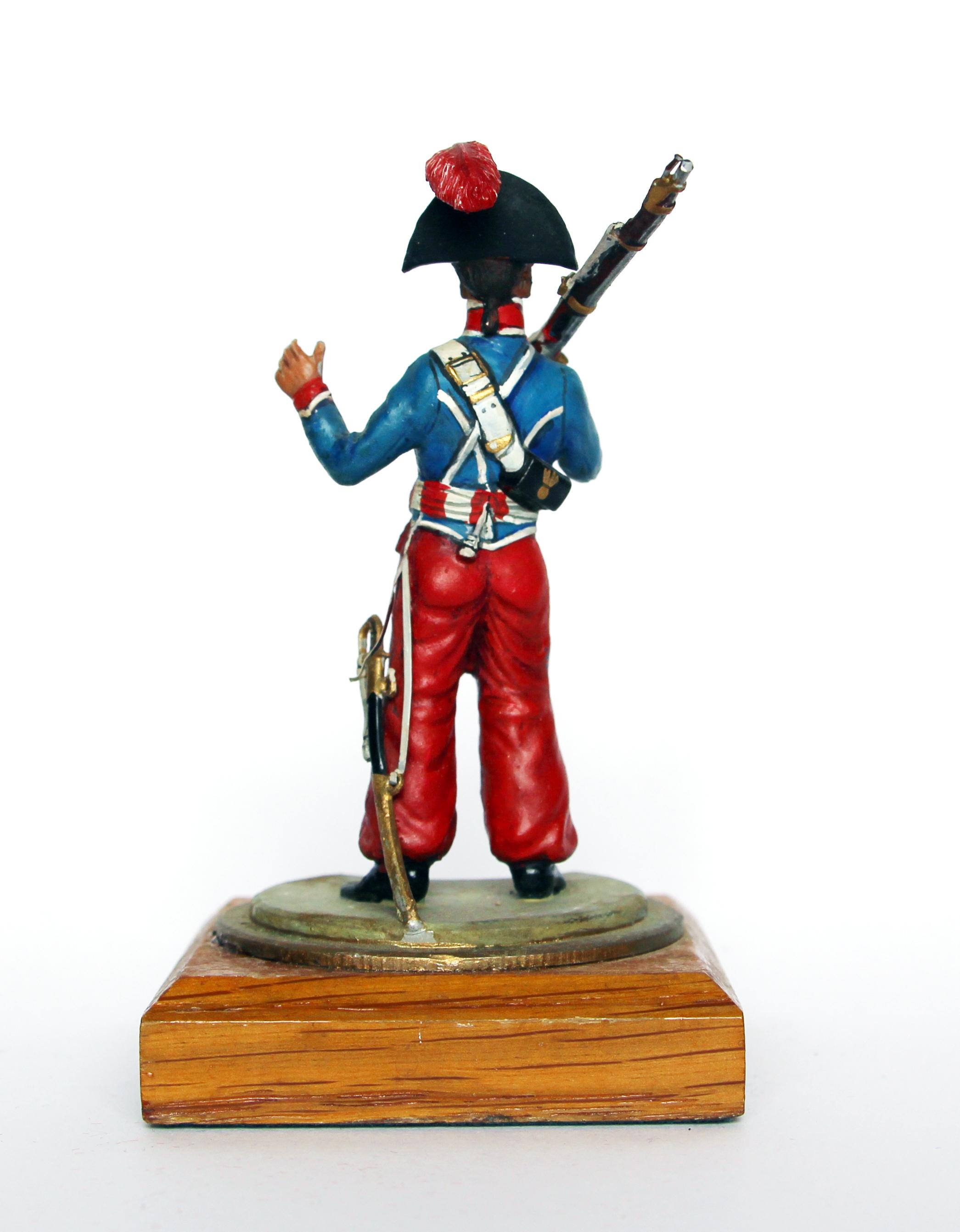 Figurine Series 77 - Peinture collectionneur - Trompette du 1er Chevau-légers lanciers de la Garde - Polonais