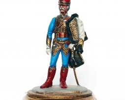 Figurine Series 77 - Peinture collectionneur -5em hussards - 1er Empire 1815