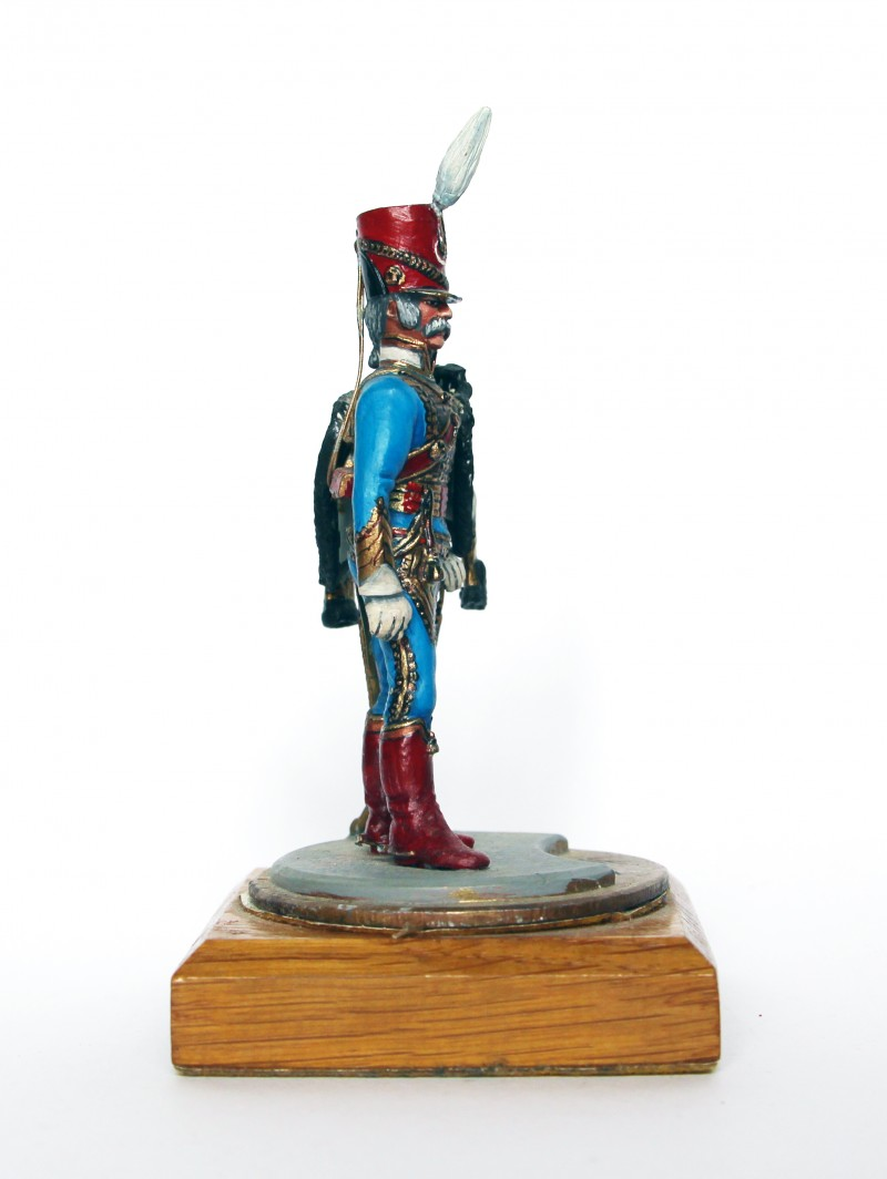 Figurine Series 77 - Peinture collectionneur -5em hussards - 1er Empire 1815