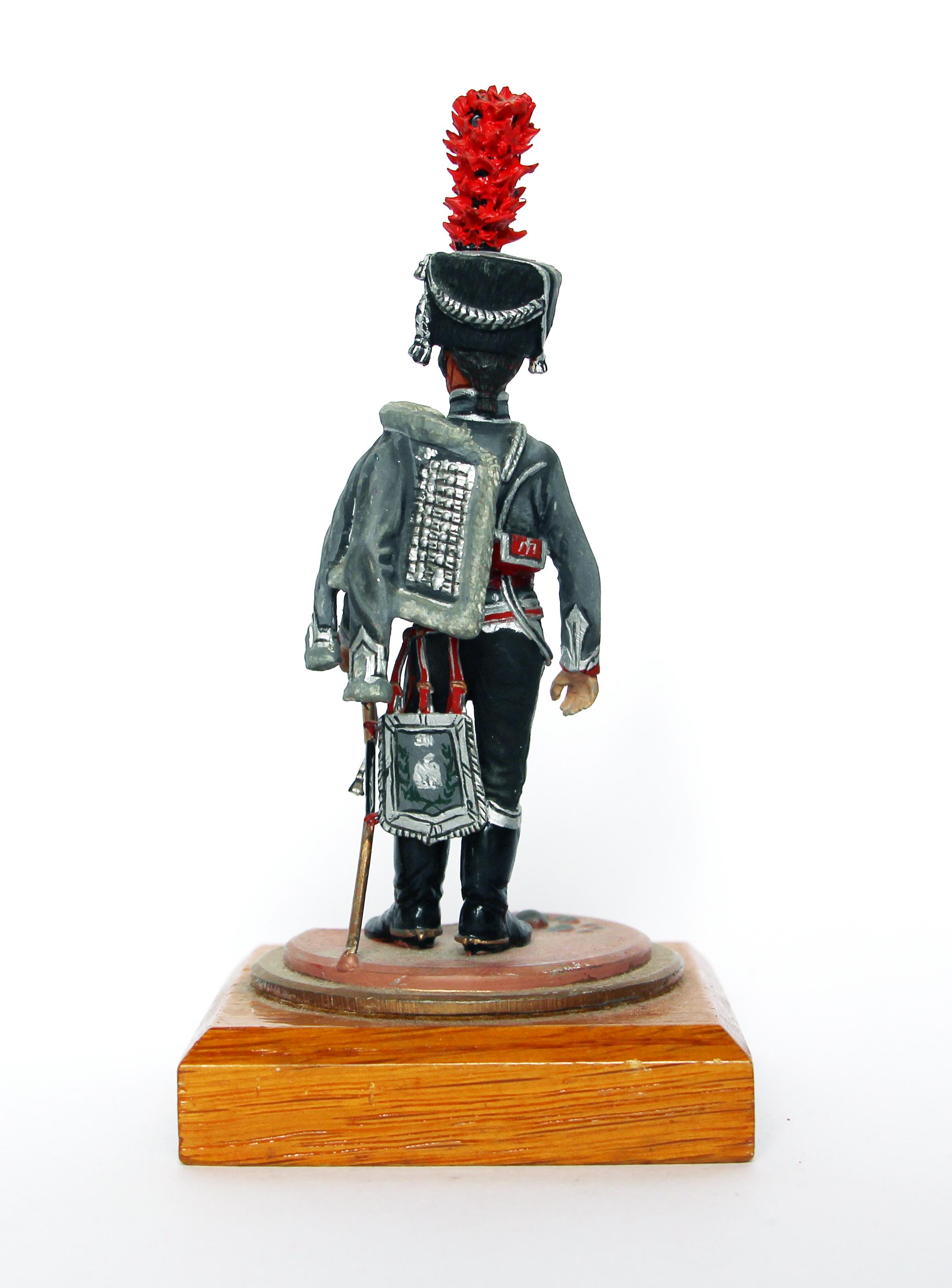 Figurine Series 77 - Peinture collectionneur - Hussard 3em Régiment - 1er Empire 1810 - Officier - Compagnie d'Elite