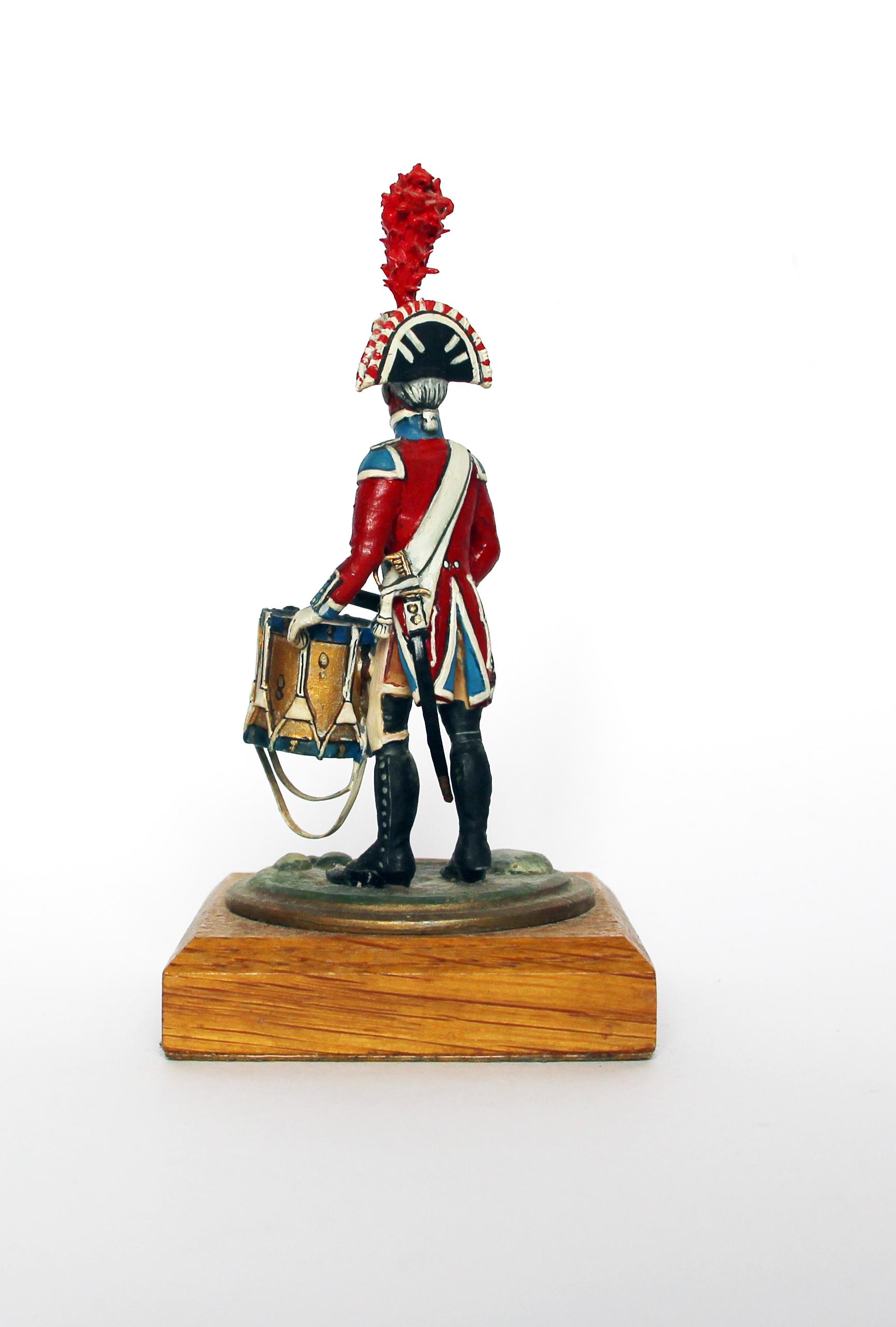 Figurine Series 77 - Peinture collectionneur - Tambour de la Gendarmerie d'Elite - 1er Empire 1810