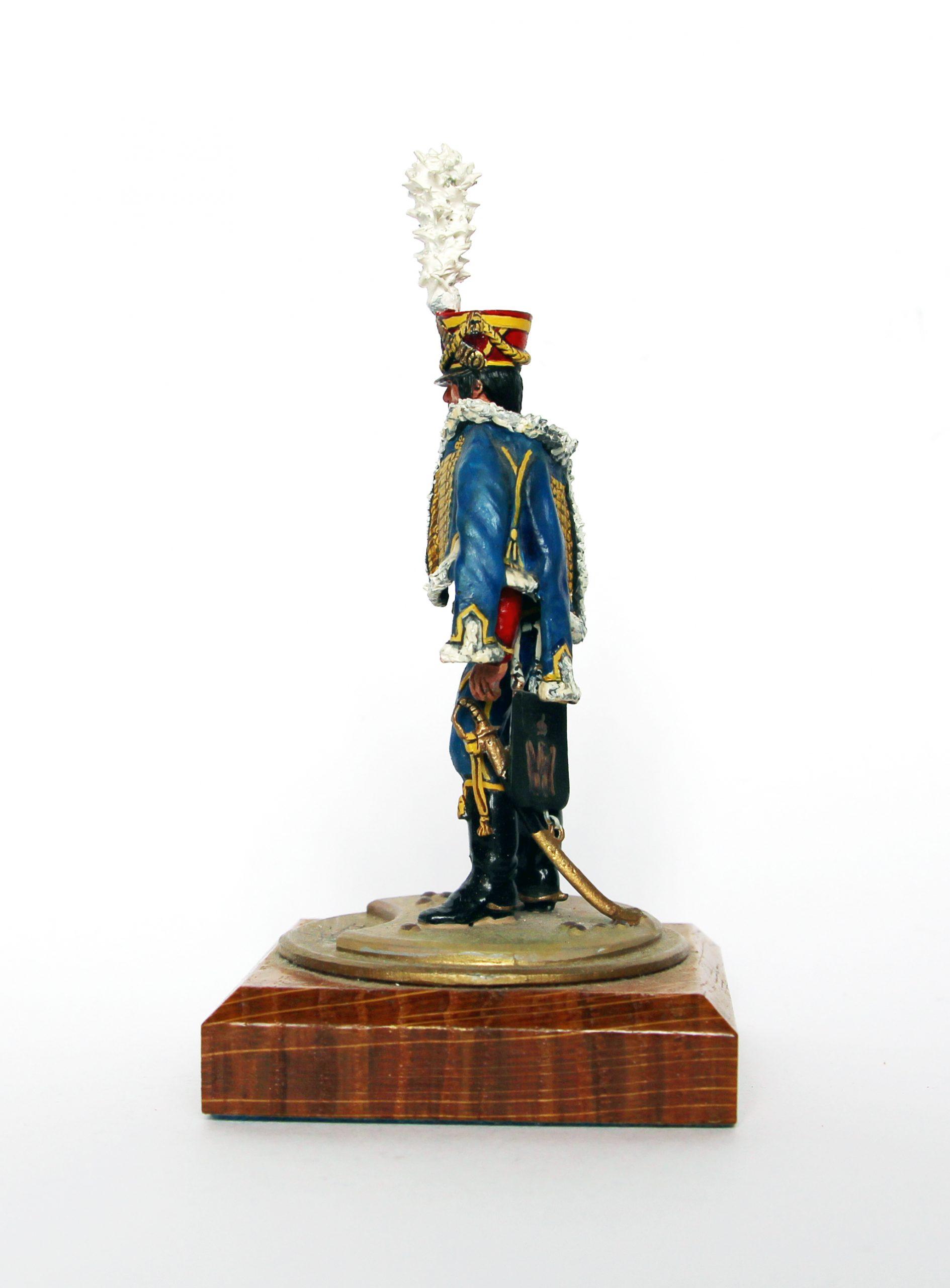 Figurine Series 77 - Peinture collectionneur - Hussard 13em Régiment - 1er Empire 1813