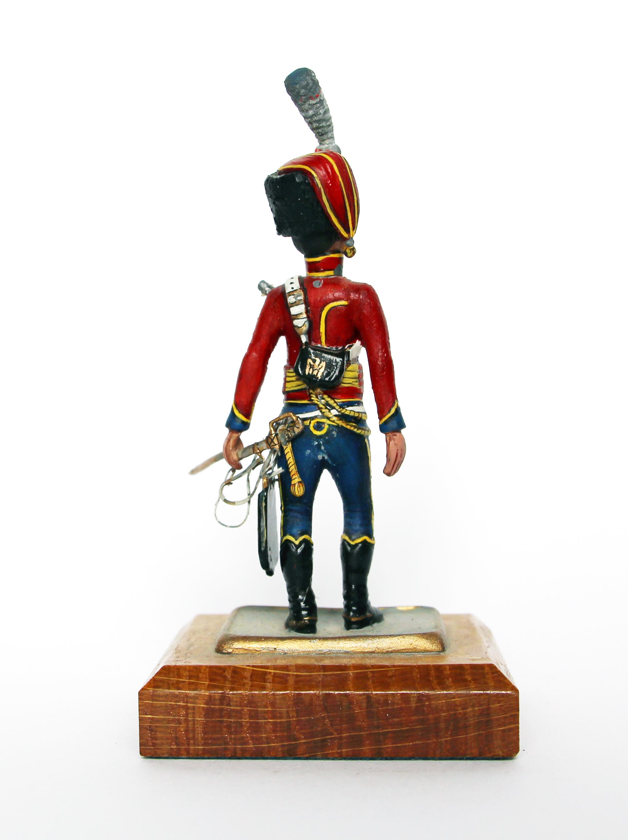 Figurine Series 77 - Peinture collectionneur -6em hussards - 1er Empire 1809