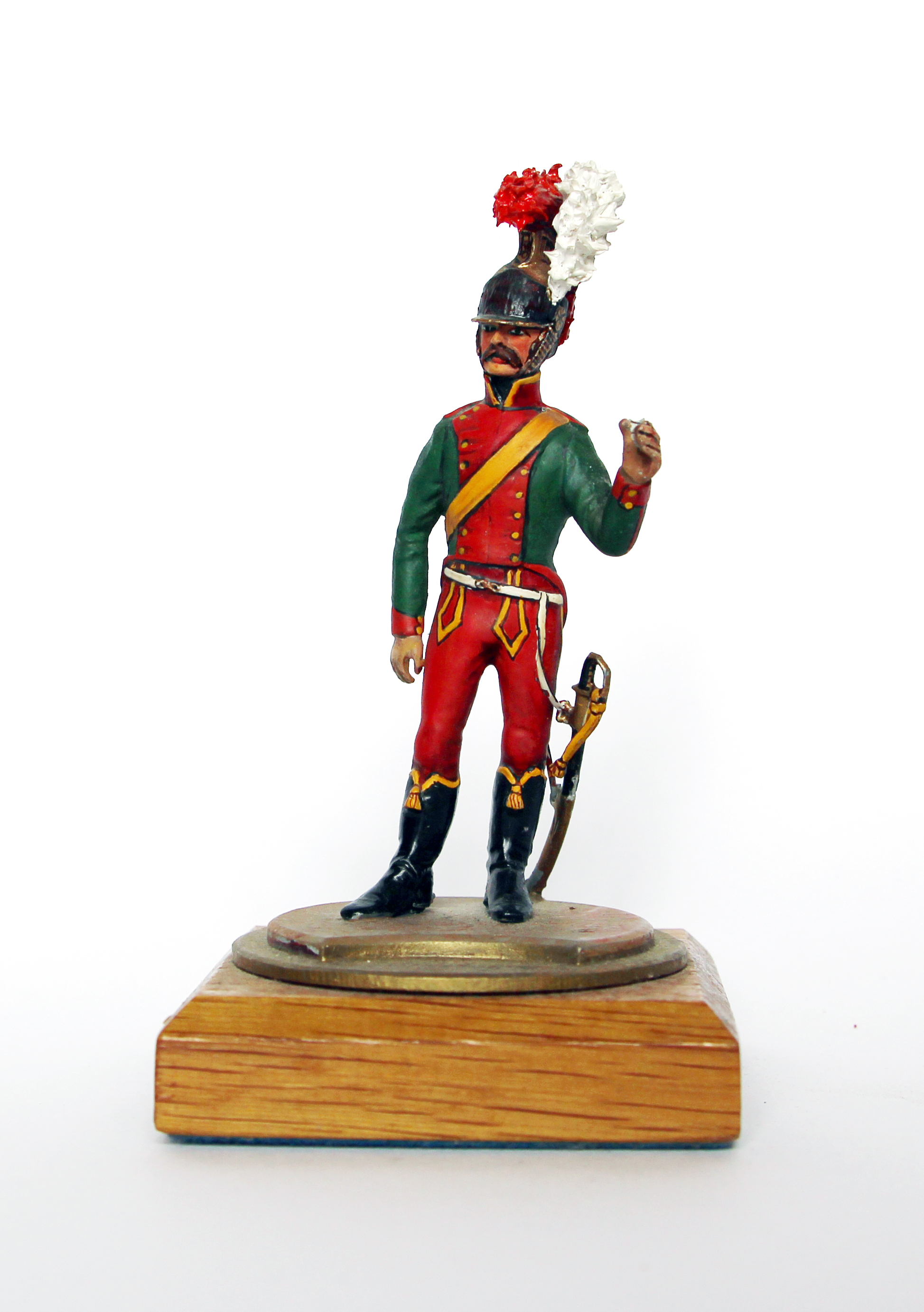 Figurine Series 77 - Peinture collectionneur - Chevau-léger Lancier Compagnie d'Elite - 1er Empire 1815