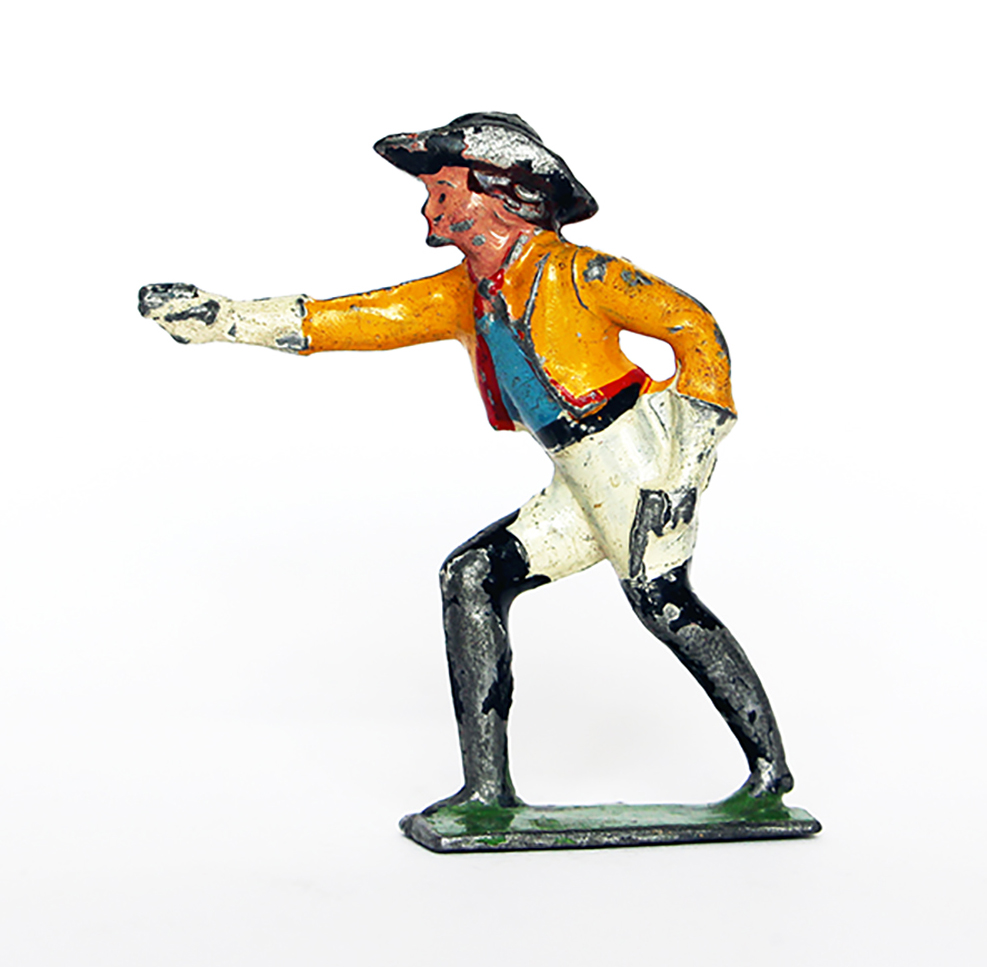 Ancienne Figurine Plomb Creux année 50/60 - Cowboy
