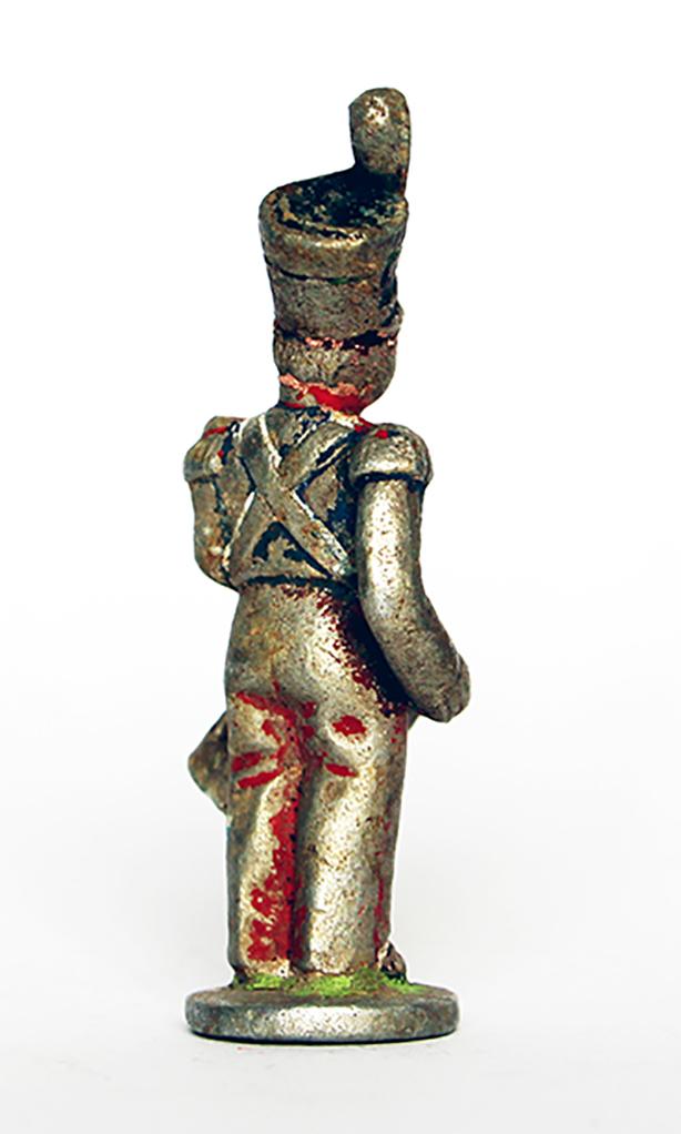 Ancienne Figurine Quiralu année 50/60 - Tambour Restauration