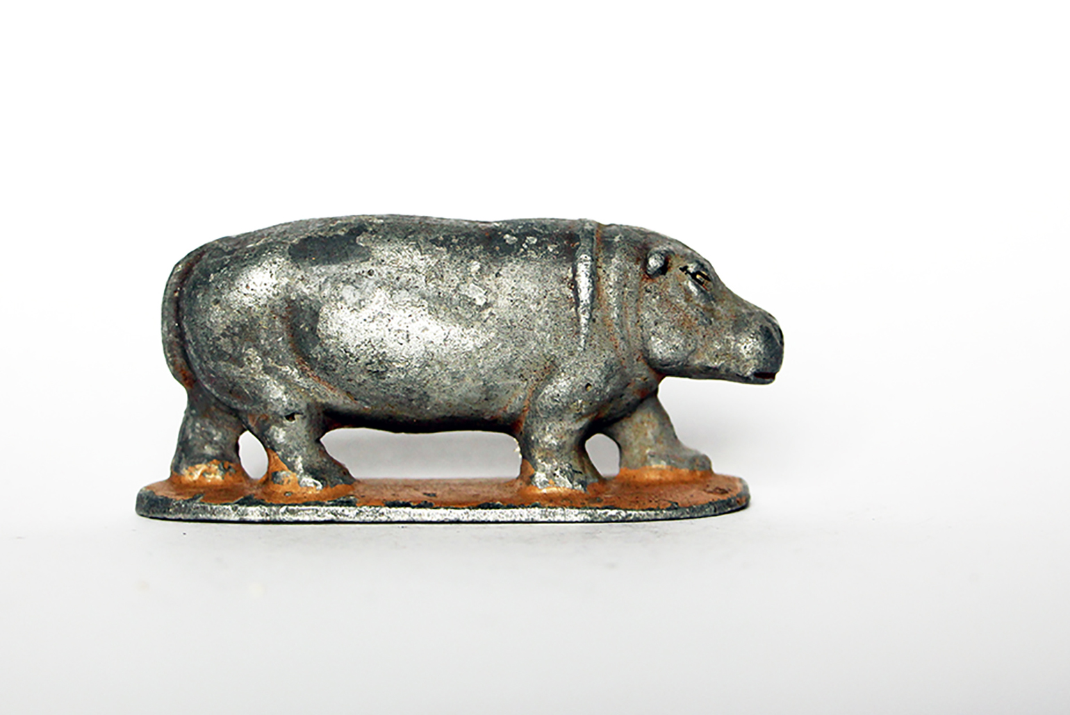Ancienne Figurine Quiralu année 50/60 - Animal Zoo - Hippopotame Afrique