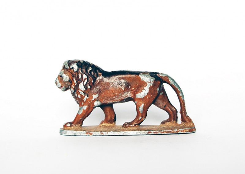 Ancienne Figurine Quiralu année 50/60 - Animal Zoo - Lion Afrique