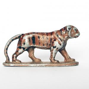 Ancienne Figurine Quiralu année 50/60 - Animal Zoo - Lionne Afrique