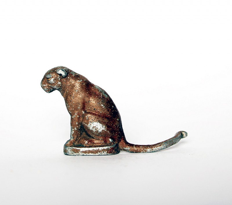 Ancienne Figurine Quiralu année 50/60 - Animal Zoo - Lionne