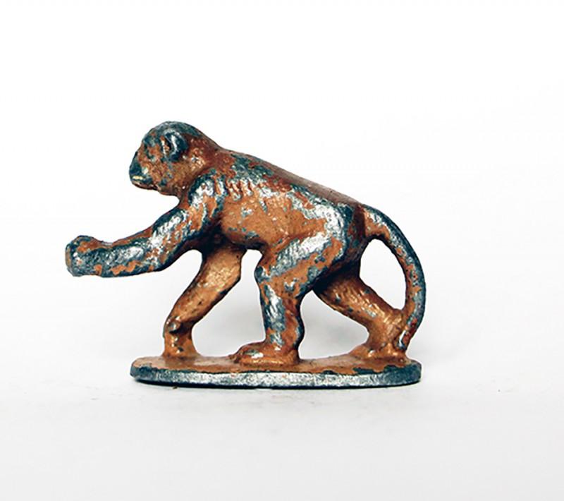 Ancienne Figurine Quiralu année 50/60 - Animal Zoo - Chimpanzé