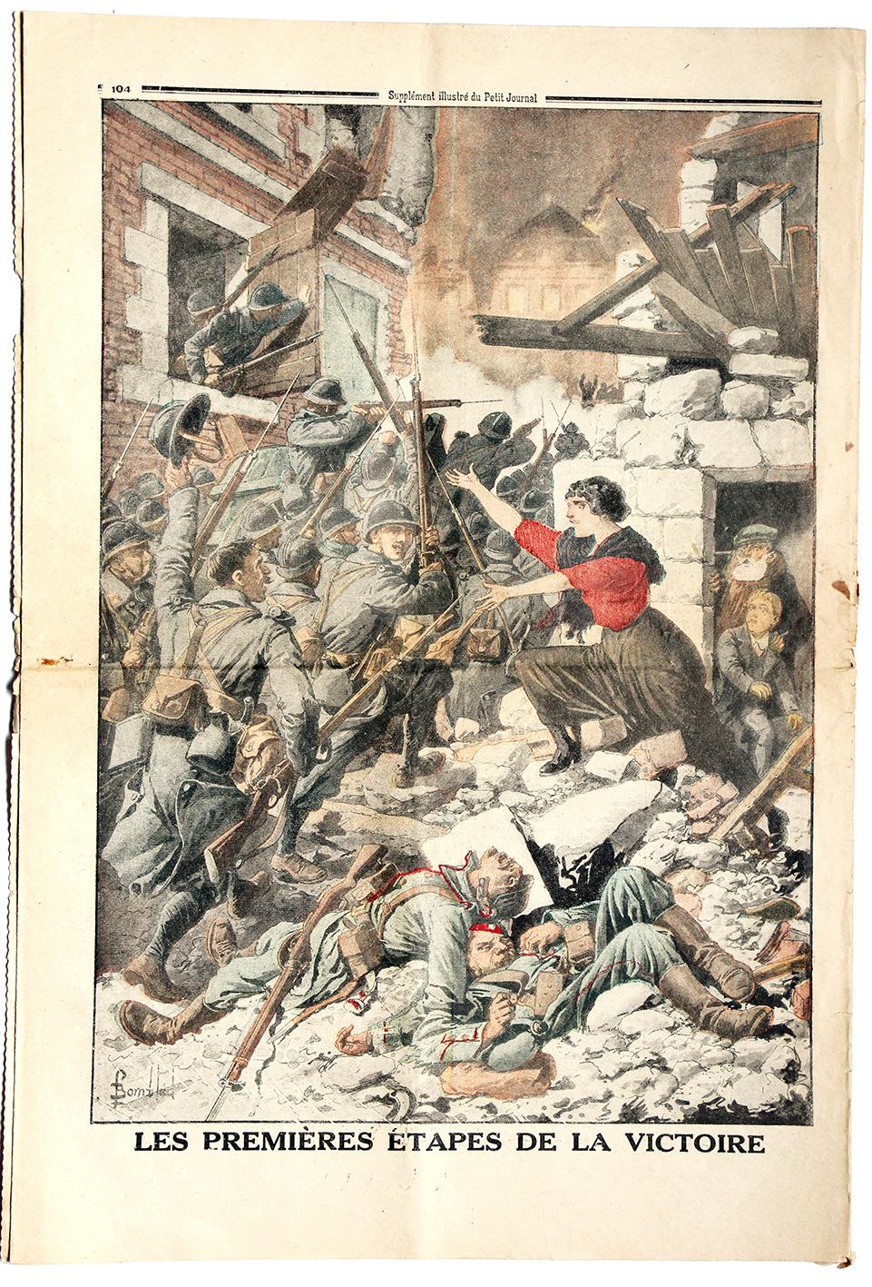 Le petit journal - supplément illustré - 1er avril 1917