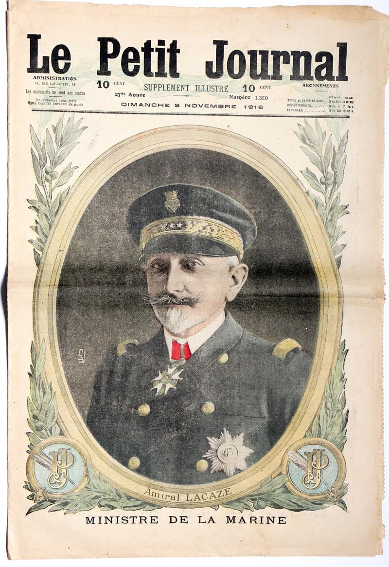 Le petit journal - supplément illustré - 5 novembre 1916