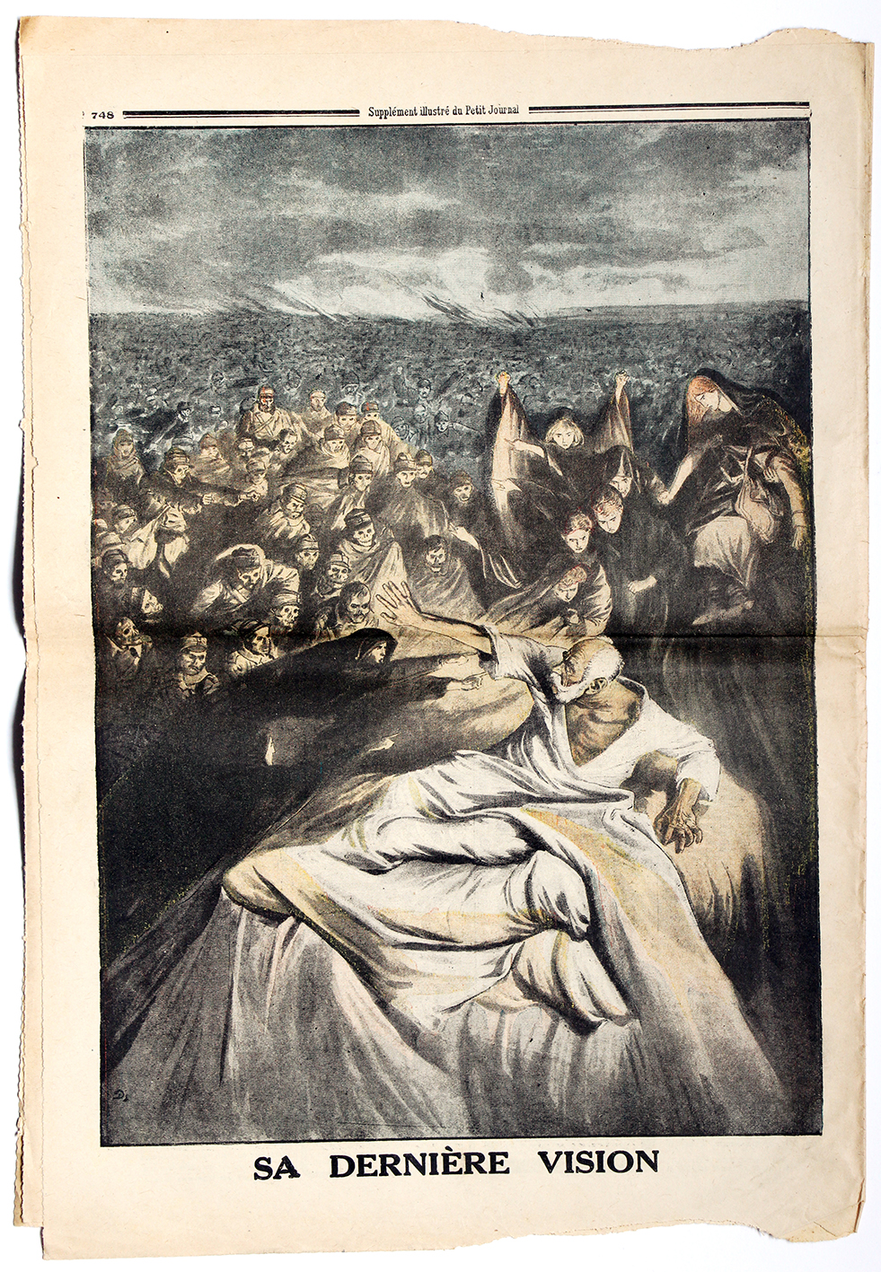 Le petit journal - supplément illustré - 10 décembre 1916