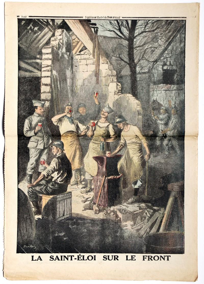 Le petit journal - supplément illustré - 3 décembre 1916