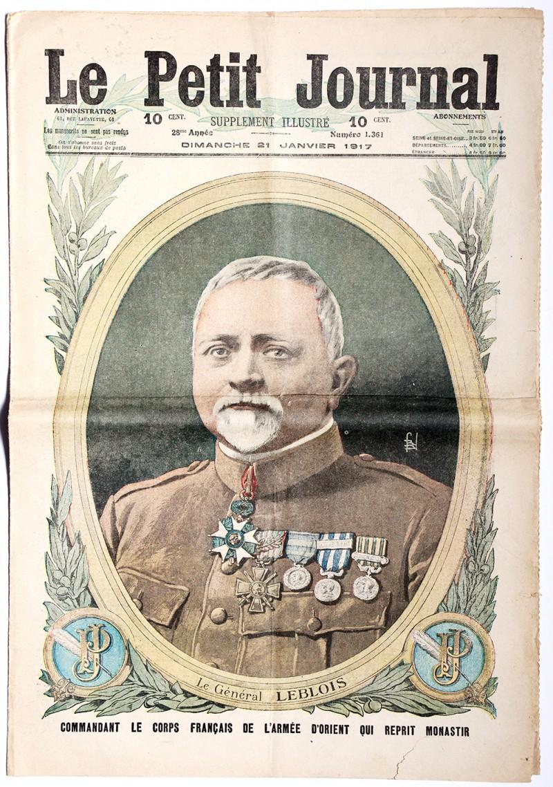 Le petit journal - supplément illustré - 21 janvier 1917