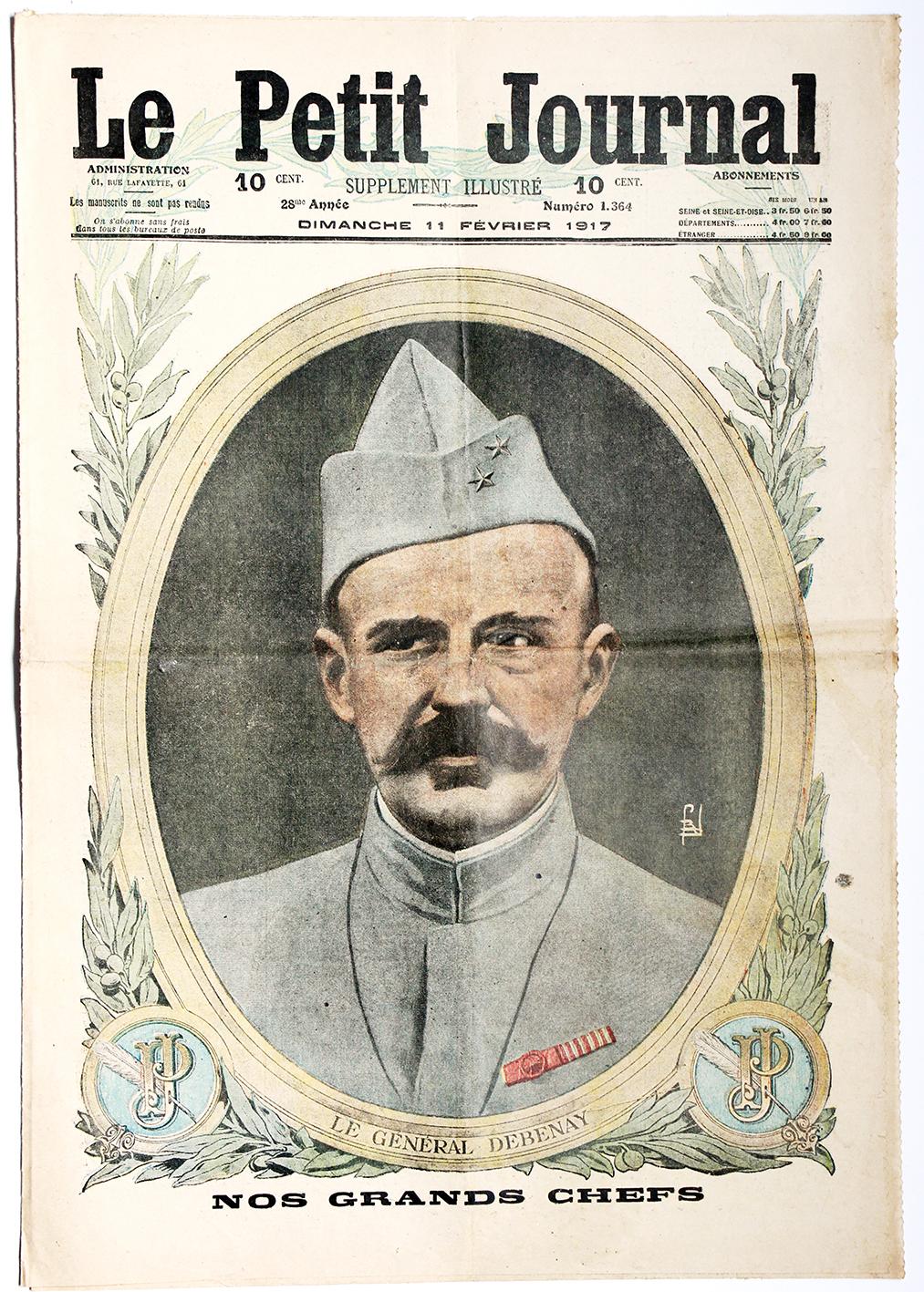 Le petit journal - supplément illustré - 11 février 1917