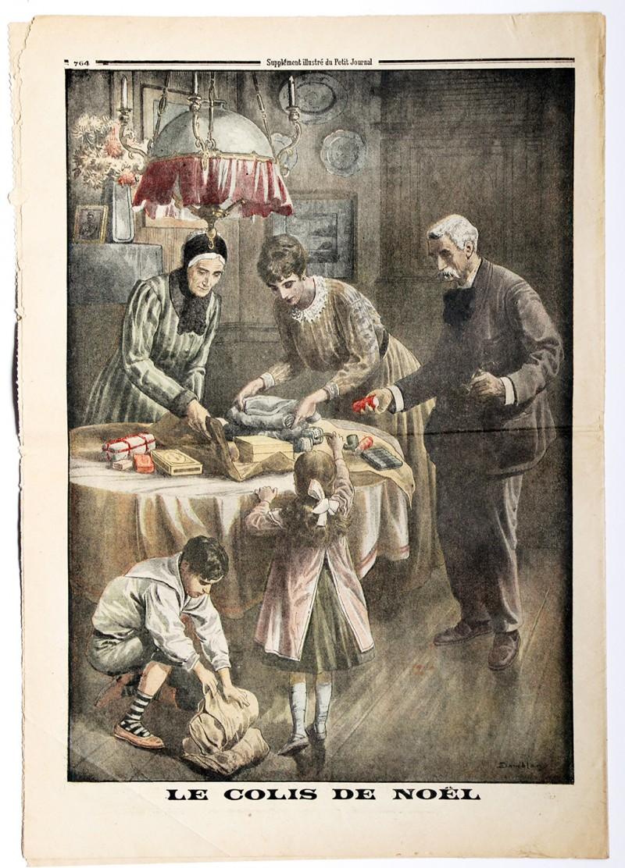Le petit journal - supplément illustré - 24 décembre 1916