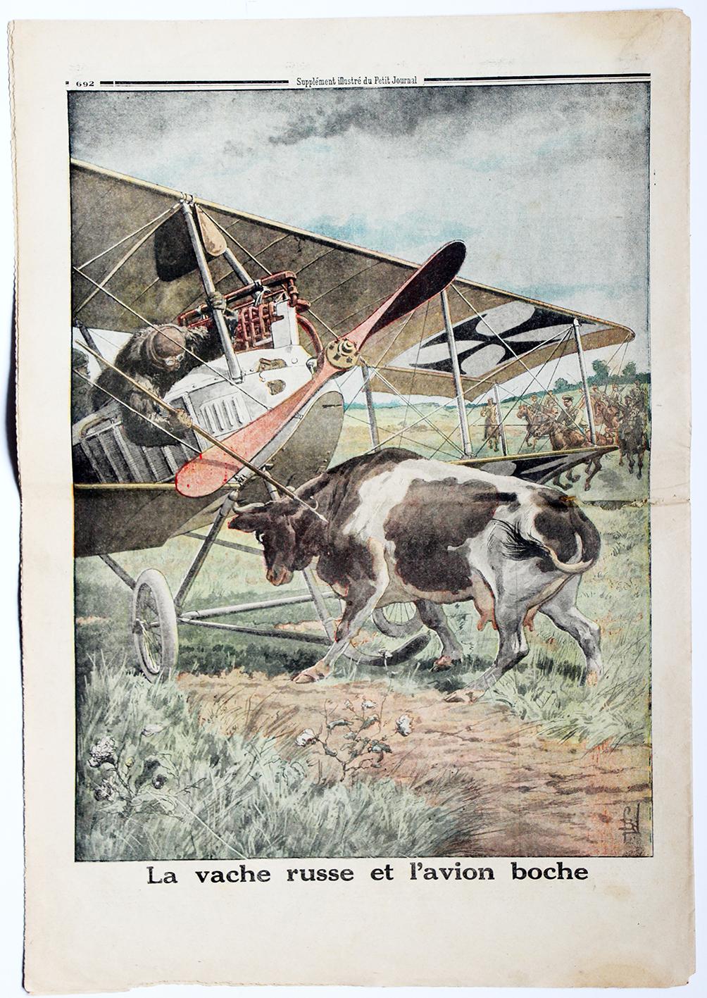 Le petit journal - supplément illustré - 22 octobre 1916
