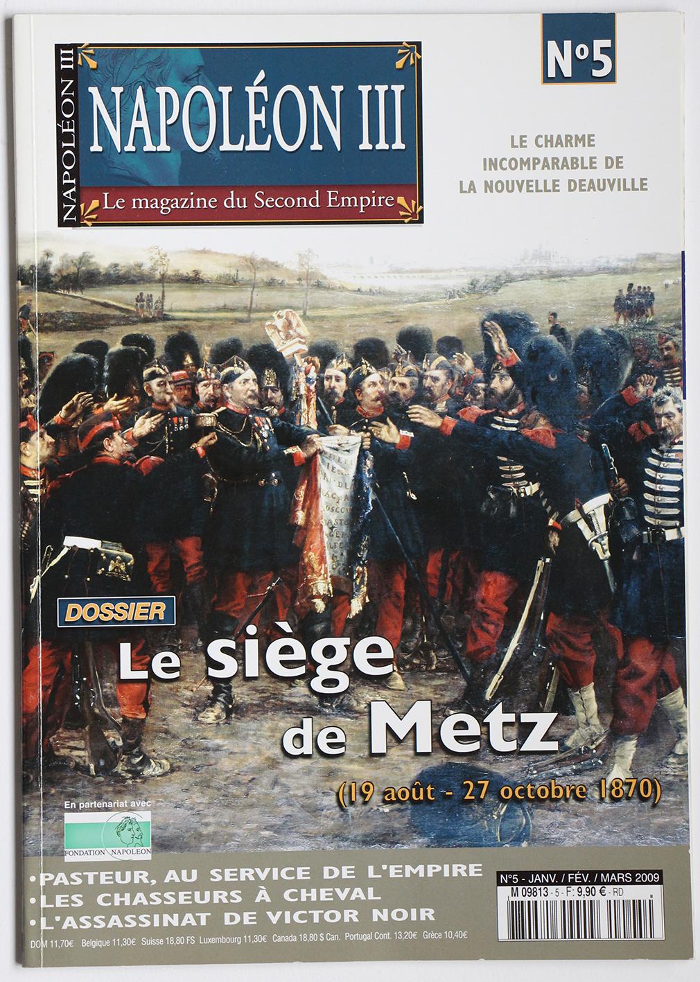 Revue Napoléon III N°5 Siège de Metz