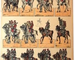 1 Planches PRO FRANCIA - Uniformes Armée Française - Second Empire - Pierre Albert Leroux