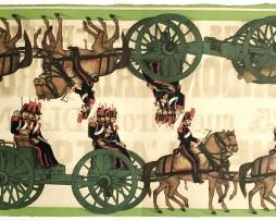 Lots Petits Soldats de Strasbourg - Artillerie Montée 1855 - Silberman
