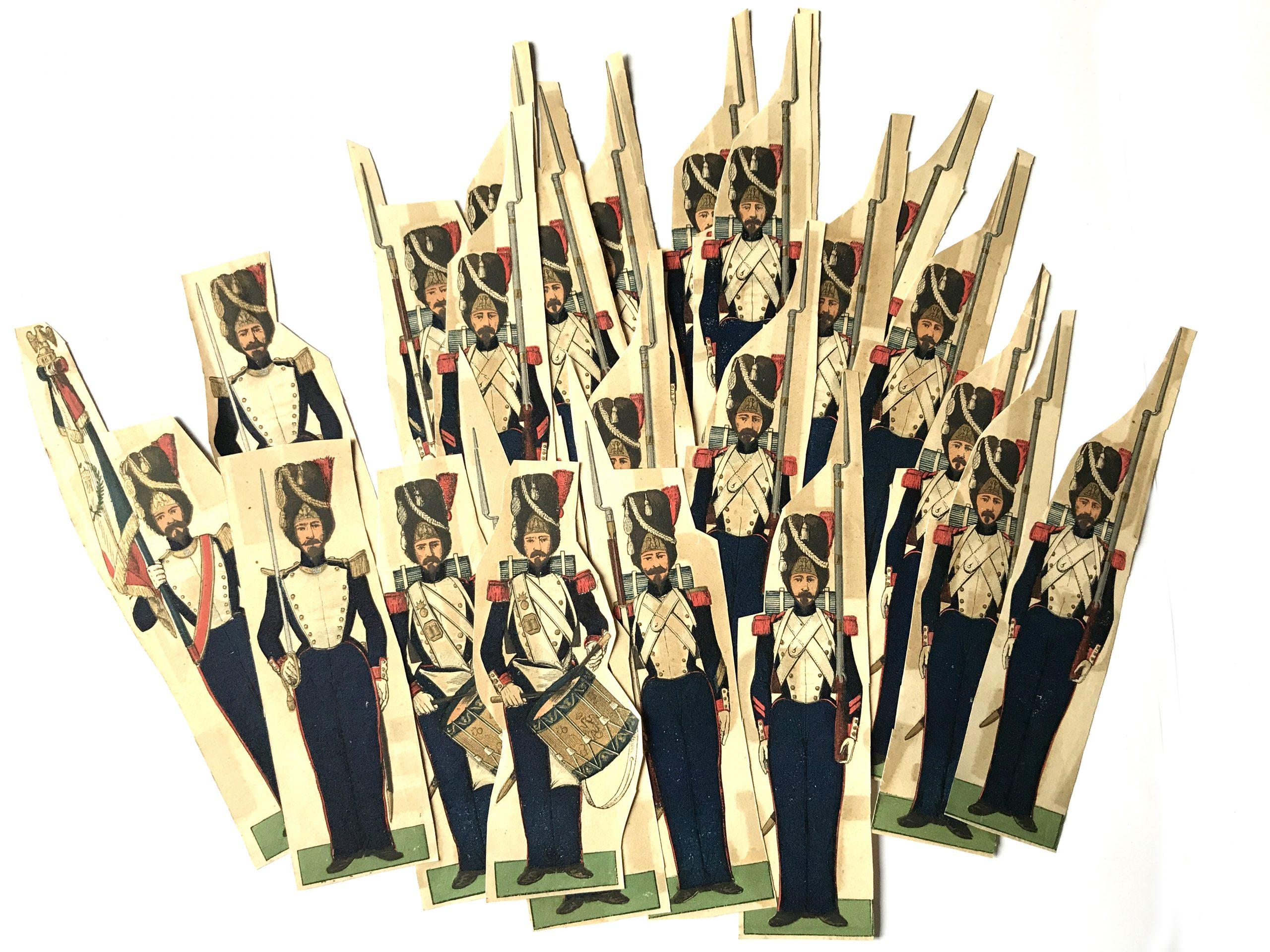 Petits soldats de Strasbourg Grenadiers de la Garde 1855