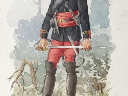 André Marcy aquarelliste infanterie française 1770-1949