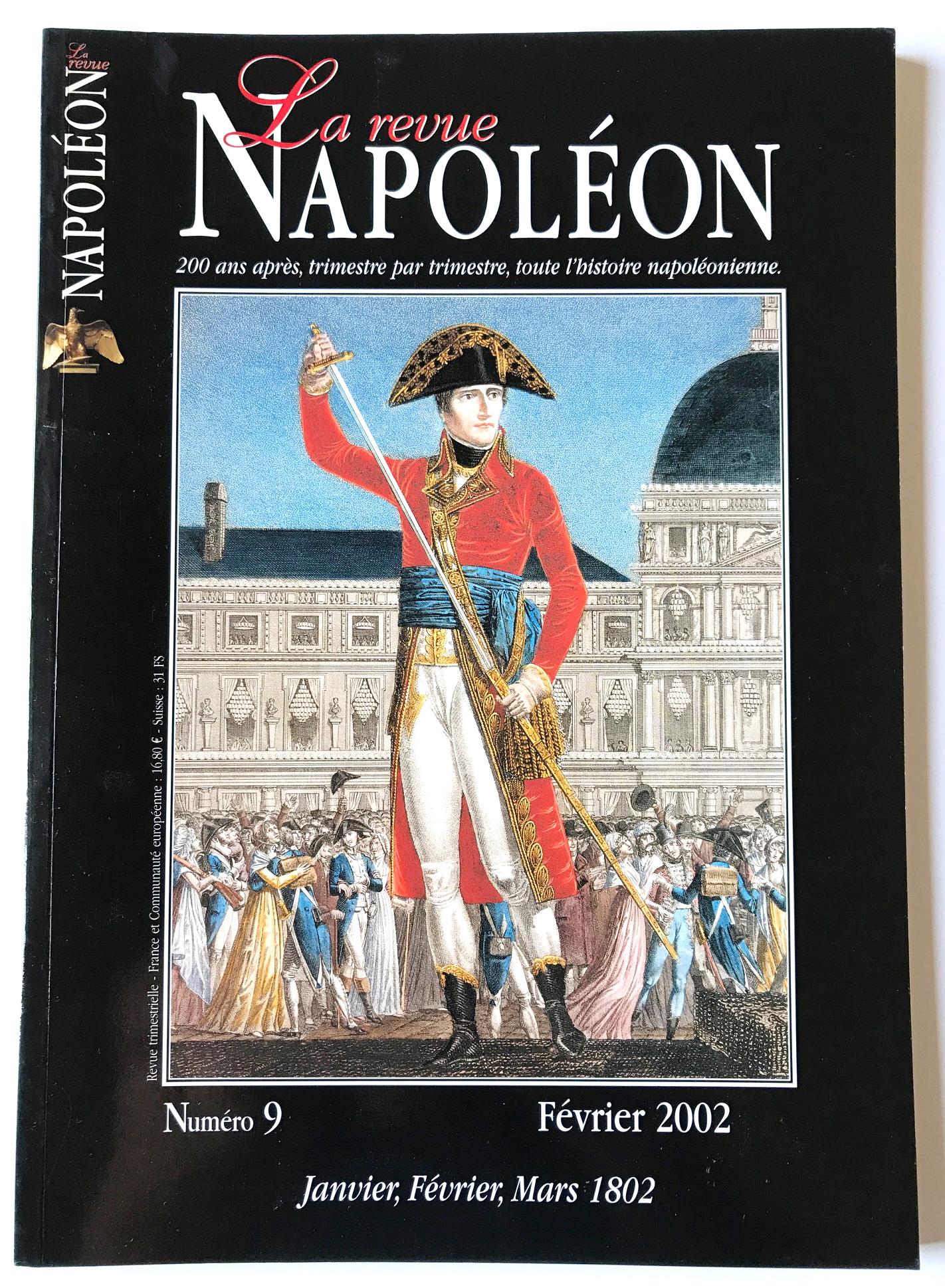 Revue Napoleon Février 2002 Numéro 9