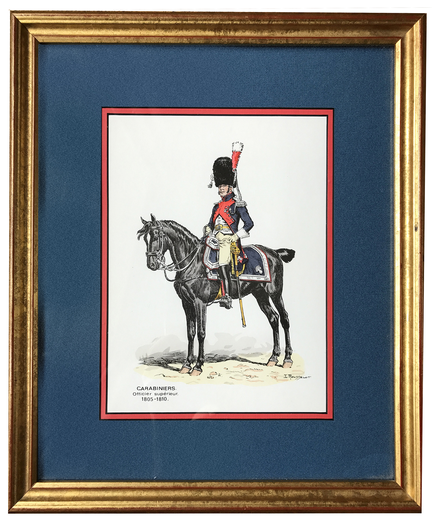 Soldats d'autrefois - Carabiniers 1805/1810 - Lucien Rousselot - 1er Empire - Napoléon