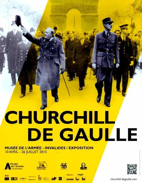 Catalogue Exposition Churchill De Gaulle