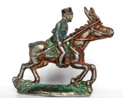 Ancienne Figurine Plomb XXeme - Lancier - Cavalier - Uhlan