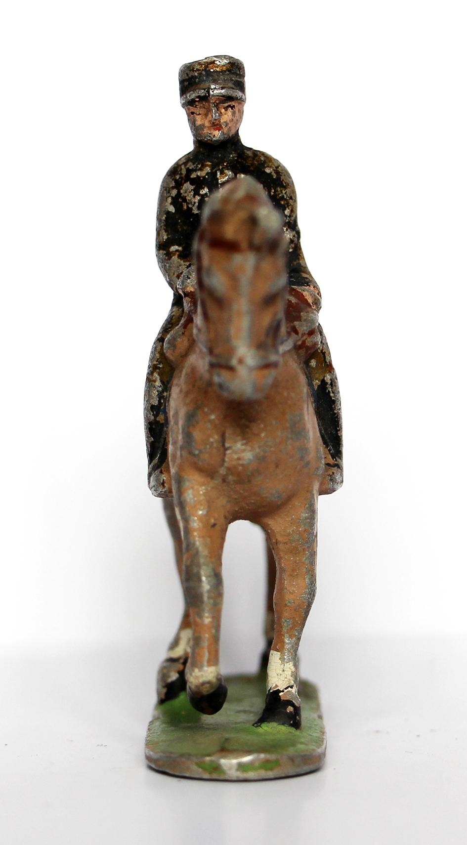 Figurine Quiralu ancienne Gendarmerie 1940