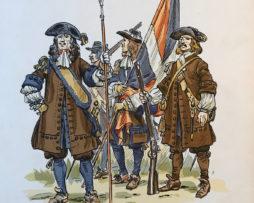 Eugène Leliepvre - France 1667 - Carignan Sallières - Quebec - La gravure Française