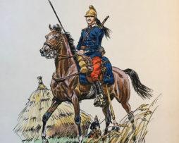 Eugène Leliepvre - France 1914 - Dragons- La gravure Française