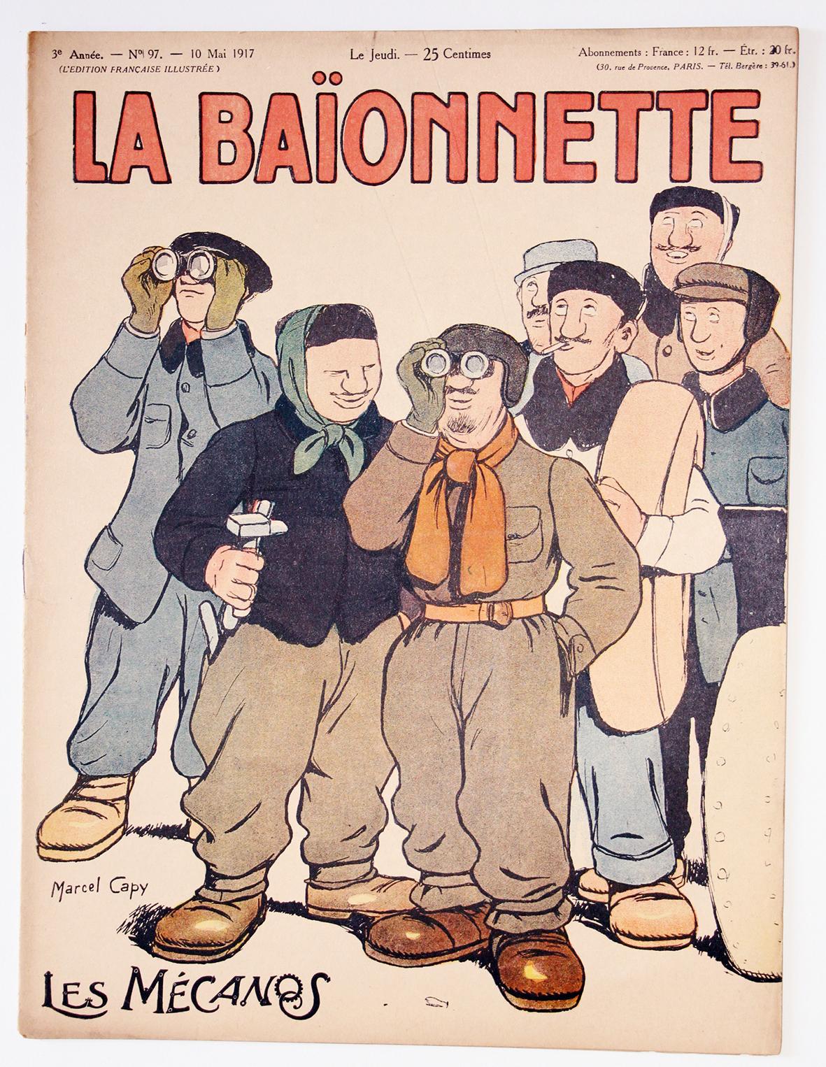 Revue Satirique - La BaÏonnette - Mai 1917 - Numéro 97 - Guerre 14/18