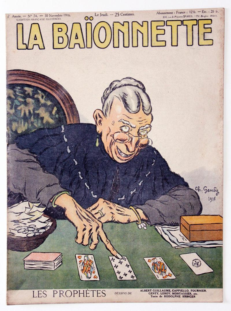 Revue Satirique - La BaÏonnette - Novembre 1916 - Numéro 74 - Guerre 14/18