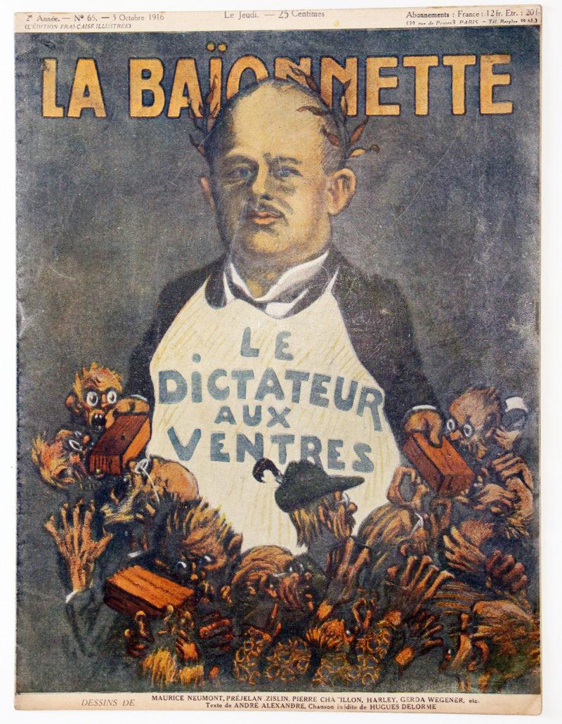 Revue Satirique - La BaÏonnette - Octobre 1916 - Numéro 65 - Guerre 14/18