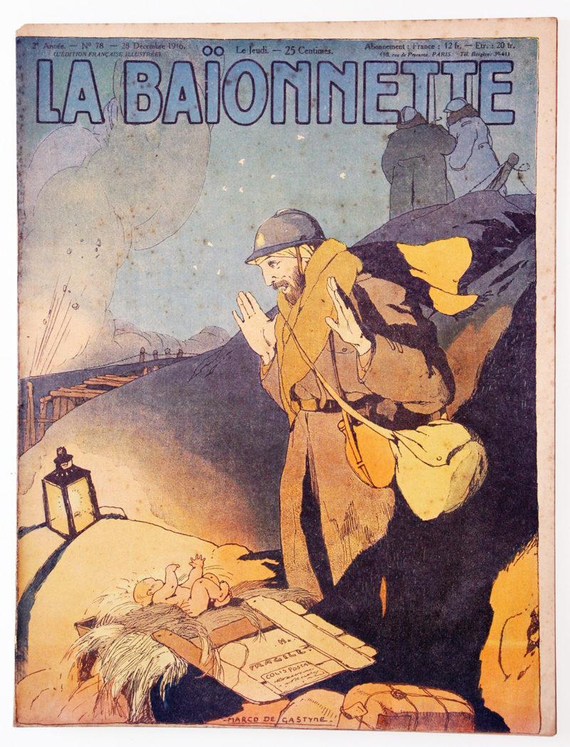Revue Satirique - La BaÏonnette - Décembre 1916 - Numéro 78 - Guerre 14/18