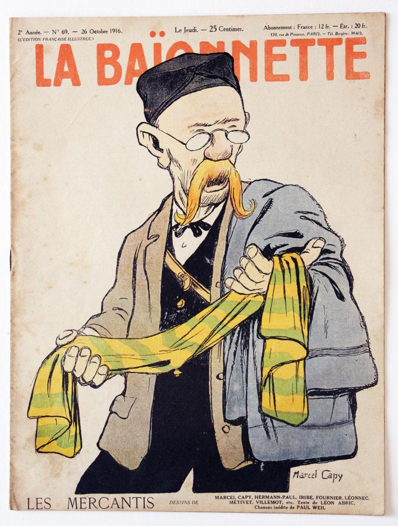 Revue Satirique - La BaÏonnette - Octobre 1916 - Numéro 69 - Guerre 14/18