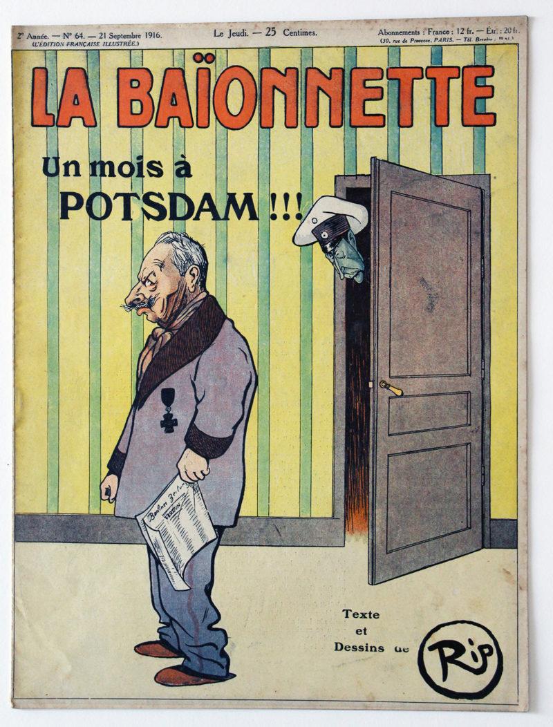 Revue Satirique - La BaÏonnette - Septembre 1916 - Numéro 64 - Guerre 14/18