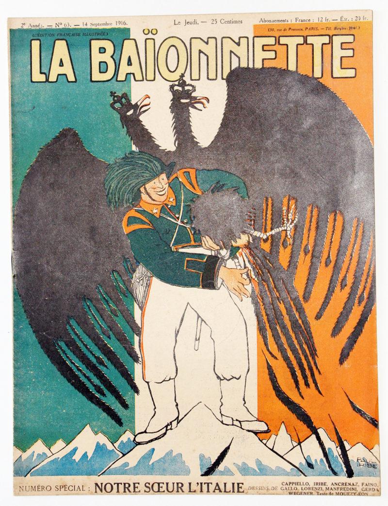 Revue Satirique - La BaÏonnette - Septembre 1916 - Numéro 63 - Guerre 14/18