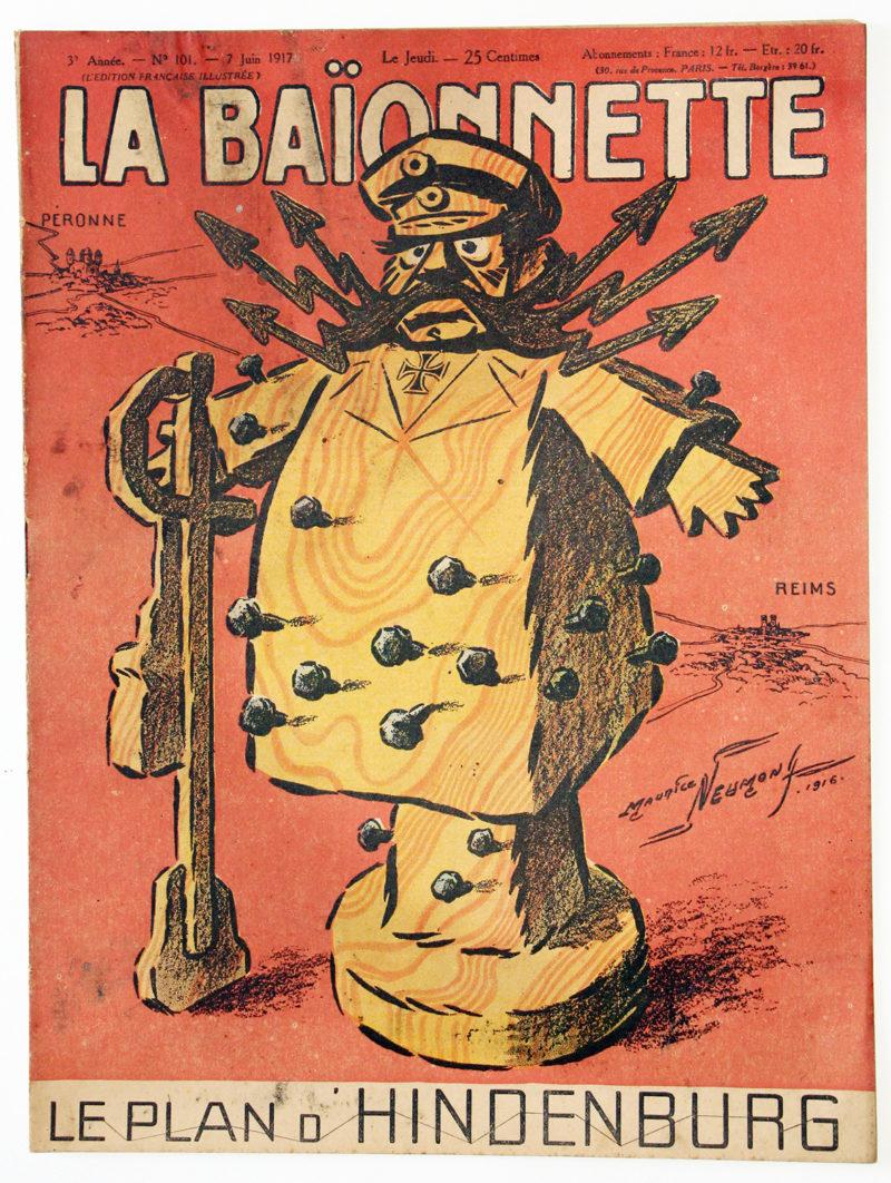 Revue Satirique - La BaÏonnette - Juin 1917 - Numéro 101 - Guerre 14/18